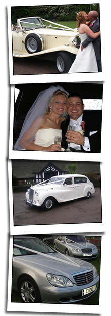 Farnworth wedding car hire homepage graphic